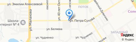 Алтайские закрома на карте Барнаула