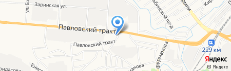 Остек-Системы на карте Барнаула