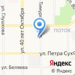 Алтайское училище олимпийского резерва на карте Барнаула