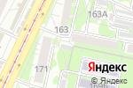 Схема проезда до компании Хмельной остров в Барнауле