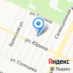 СибСтрой на карте Барнаула