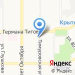 Дежурная на карте Барнаула