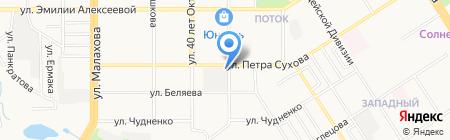 Хорошее настроение на карте Барнаула