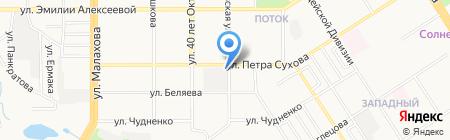 БОЛЕРО на карте Барнаула