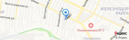 Мастерская по ремонту грузовых автомобилей на карте Барнаула