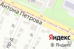 Схема проезда до компании XxxX в Барнауле