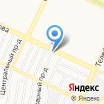 Семейная на карте Барнаула