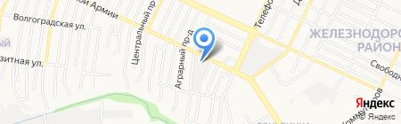 Теплоцентр-Логистик на карте Барнаула