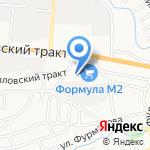 Алтай Мотор Запчасть на карте Барнаула