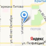 АВТОЛАЙФ на карте Барнаула