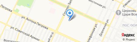 Детский сад №128 на карте Барнаула