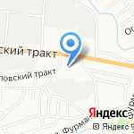 Магазин автоэлектрики на карте Барнаула