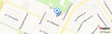 Гастроном 35 на карте Барнаула