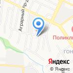 Славторг на карте Барнаула