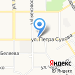 Ломбард Квартет на карте Барнаула