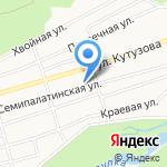 Балкон на карте Барнаула