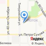 Отдел полиции №9 Управления МВД России по г. Барнаулу на карте Барнаула