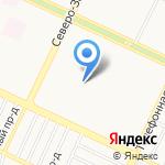 Детский сад №258 на карте Барнаула