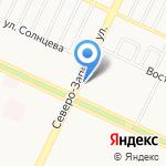 Банкомат на карте Барнаула