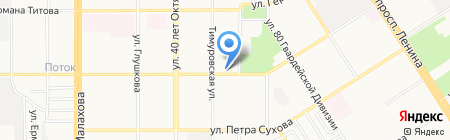 Leader Beer на карте Барнаула
