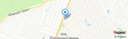 Магазин автозапчастей для КАМАЗ МАЗ на карте Барнаула