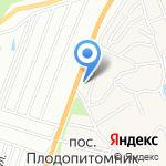 Алтайский длинномер на карте Барнаула