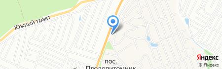 Гудвин на карте Барнаула