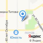Юкола на карте Барнаула
