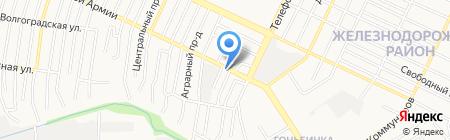Автолэнд22 на карте Барнаула