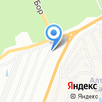 Грин Холл на карте Барнаула