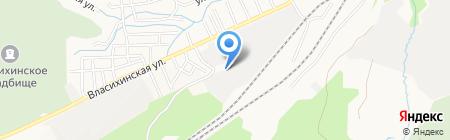 Стальмонтаж на карте Барнаула