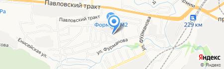 Метализ на карте Барнаула