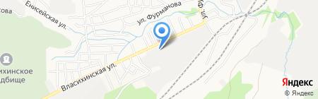 Сибирь-Контракт на карте Барнаула