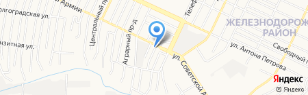 Кумир на карте Барнаула