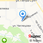 Новоселы 11 на карте Барнаула