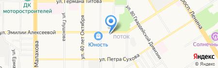 Доступный на карте Барнаула
