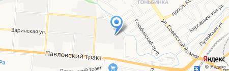 МАГИГ на карте Барнаула