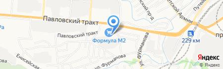Банкомат Ханты-Мансийский банк ОТКРЫТИЕ на карте Барнаула