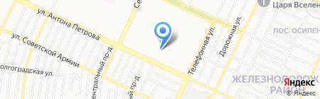 Средняя общеобразовательная школа №64 на карте Барнаула