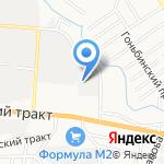 Агро Индустрия на карте Барнаула