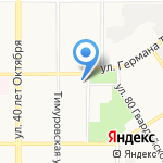 А-Микроавтобус на карте Барнаула