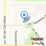 FreeSetup на карте Барнаула