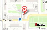 Схема проезда до компании Андреич Плюс в Барнауле