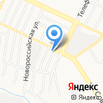 Рука помощи на карте Барнаула