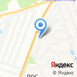 Околица на карте Барнаула