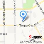АлтайРемСтрой на карте Барнаула