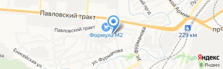 Алтайоптторг на карте Барнаула