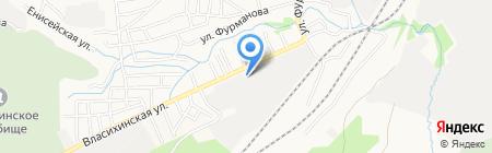 Банкомат Альфа-Банк на карте Барнаула