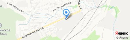 Аварийно-диспетчерская служба по водопроводу и канализации на карте Барнаула