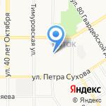 Краевой кризисный центр для женщин на карте Барнаула